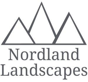 Nordland Landscapes Logo in grey