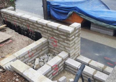 front garden construction