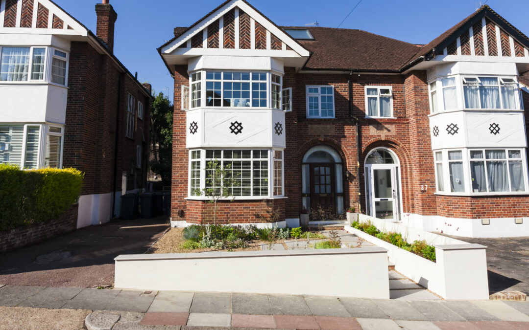 Finchley Low Maintenance Front Garden